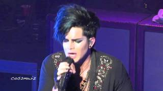 ADAM LAMBERT Soaked ~ Club Nokia, Los Angeles 12-16-10
