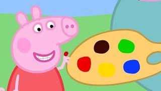 Peppa Pig Nederlands Compilatie Nieuwe Afleveringen 🎨 Schilderen ⭐ Tekenfilm | Peppa de Big