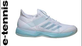 promo code e9687 31349 adidas Adizero Ubersonic 3 X Parley Womens Tennis Shoes video