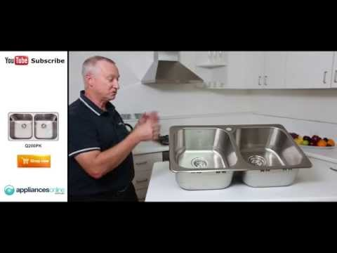 The Q200PK Abey Nuqueen undermount sink reviewed by product expert - Appliances Online