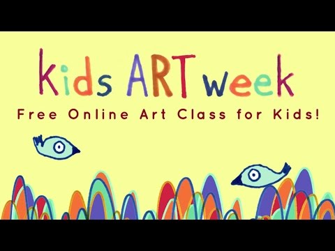 FREE Kids Art Week 2015 Trailer
