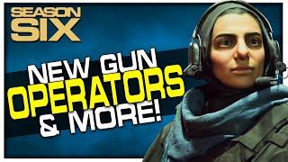New Gun, Warzone Map Change, & New Operators! (Modern Warfare Season 6)