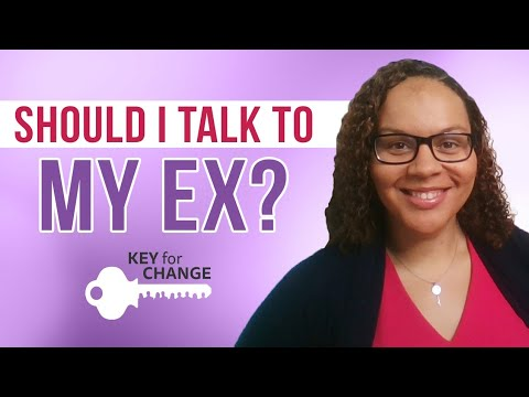 Should I talk to my ex?