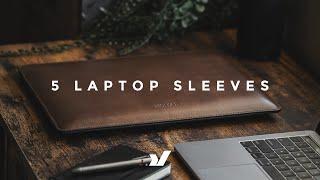 5 Minimal Laptop Sleeves - Bellroy, Nomad, Rushfaster, Incase & More