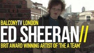 ED SHEERAN - WAKE ME UP (BalconyTV)