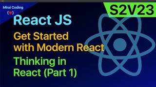 S02V23: Thinking in React - Part 1