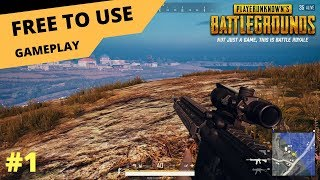 Pubg Pc Gameplay  Free To Use P Fps