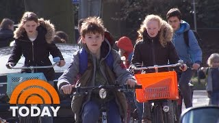 Dutch Children Deemed The Happiest In The World By UNICEF | TODAY