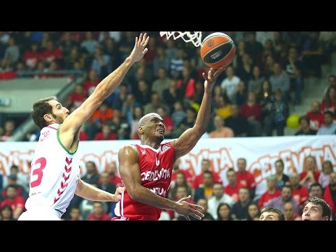 Highlights: RS Round 5, Cedevita Zagreb 76-67 Laboral Kutxa Vitoria Gasteiz