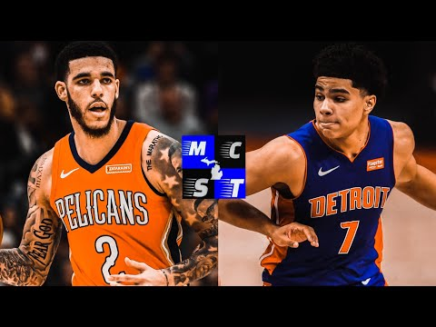 Can Lonzo Ball x Killian Hayes Be The Next Great Detroit Pistons Back Court???