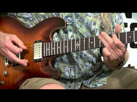 Free Guitar Lessons - Rock Bottom UFO Part 1