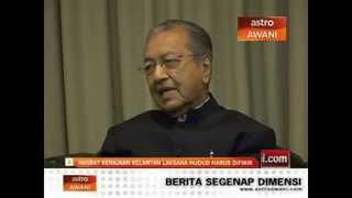 Penghinaan Terkini Mahathir Terhadap Hudud Dan Jawapan Pemimpin Pas