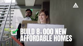 Vote Greens for real climate action, to build 8,000 new homes and fully fund our hospitals