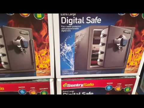 COSTCO – Sentry Safe – Fire Digital Safe 1.2 cubic feet