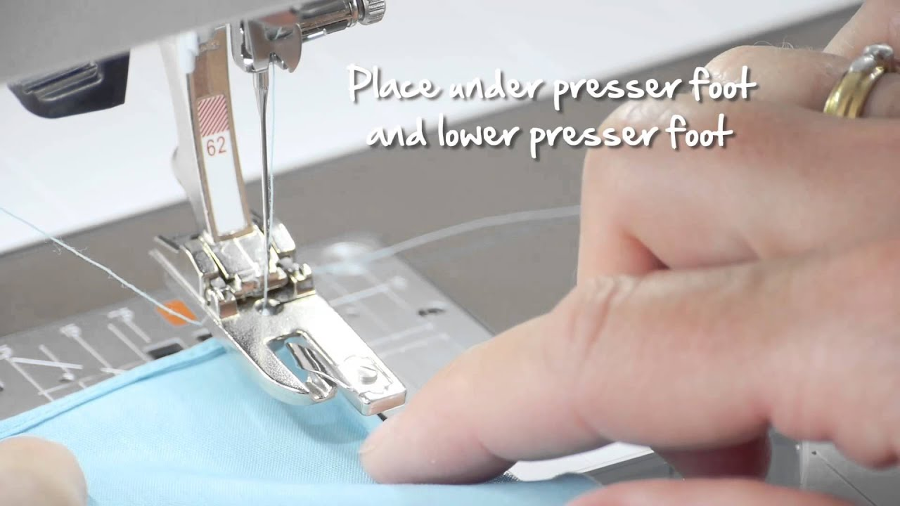 How to Use BERNINA Hemmer Feet #61-69