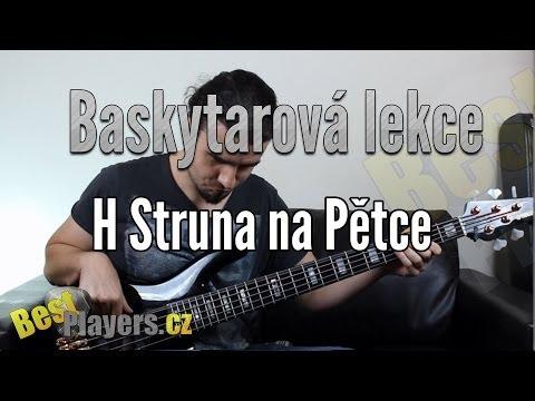 Marek Bero - H struna na pětce - Baskytarové Lekce