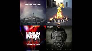 My New Radioactive Lines (mashup) - Imagine Dragons + Fall Out Boy + Linkin Park + Skillet