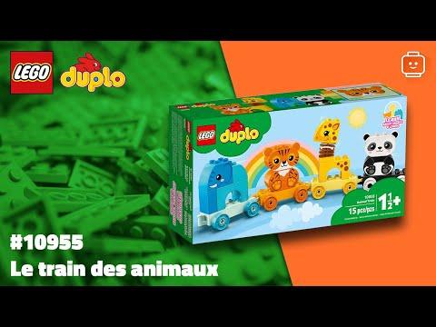 Vidéo LEGO Duplo 10955 : Le train des animaux