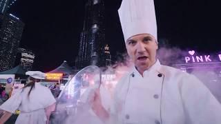 Fun Chef Show Burj Khalifa Park