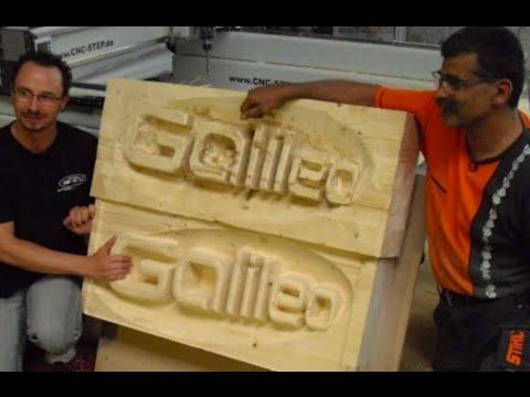 CNC-STEP bei Pro7 Gallileo in der Sendung