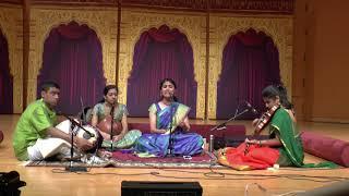 Myan Sudharsanan Concert at Cleveland 2018
