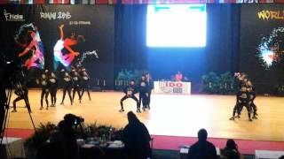 Team Y.E.S. Hip Hop Weltmeisterschaft 2015 Rimini
