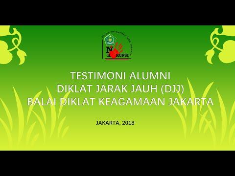 TESTIMONI DJJ BDK Jakarta