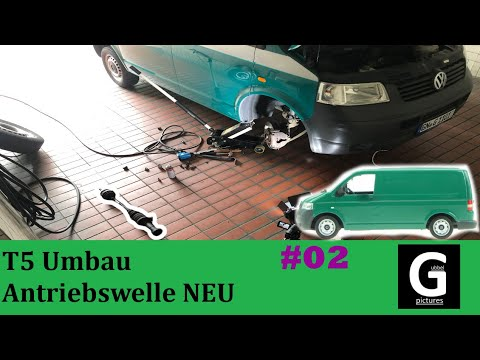 fufgubbel - VW T5 Camper Umbau Antriebswelle + Steckwelle #02