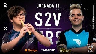 S2V Esports VS Movistar Riders | Jornada 11 | Temporada 2019 Verano