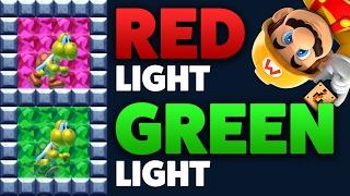Super Mario Maker - RED LIGHT GREEN LIGHT - Level Showcase