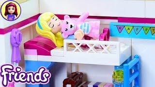 Lego Friends Little Stephanies Toddler Bedroom - Custom Girls Room Renovation DIY Craft