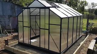 Evergreen Greenhouse 12ft X 8ft Review.