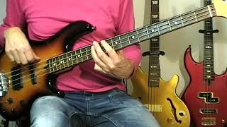 10cc - The Dean And I - Bass Cover