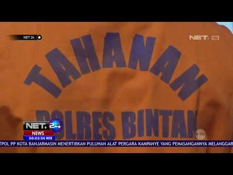 Pengedar dan Pemakai Narkoba di Batam Dibekuk Polisi NET24