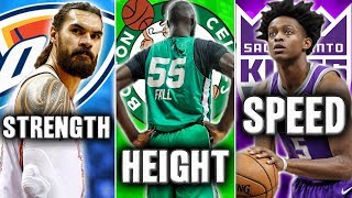 Ranking The Top NBA Player From Every Physical Category