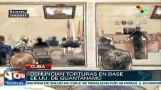 preview picture of video 'Presos denunciam torturas na prisão de Guantánamo'