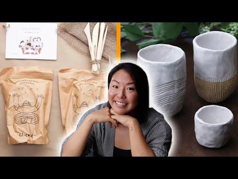 I Tried A DIY Pottery Kit By Crockd