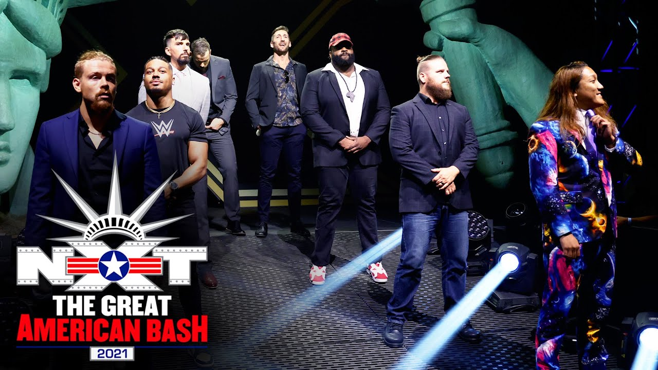 NXT Breakout Tournament Competitors Introduced At The Great American Bash