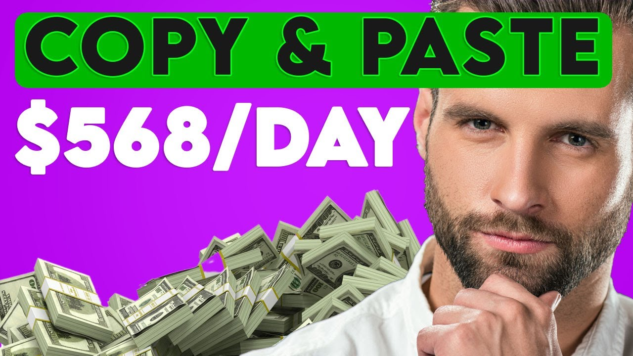 Earn $568 Per Day Copy Pasting FREE Text! (Make Money Online 2021) thumbnail