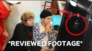 We think we caught a ghost on camera.. what do u think? **reviewed footage**