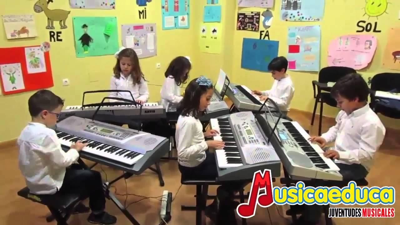 Danza renancentista - Grupo de Alumnos de Mi Teclado 3 - Sinfonía Músical - Bailén
