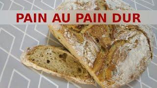 Pain au pain dur (zéro déchet)