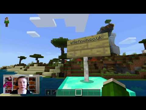 In this video I take you on a tour of my Minecraft island and show you how use Minecraft in counselling sessions with children