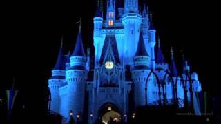 Magic Kingdom  The Kiss Goodnight  Closing Announcement  Walt Disney World HD 1080p