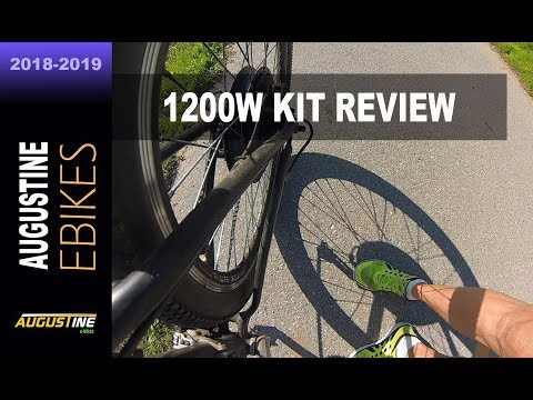 e-Bike Review. 1200w Electric Bike conversion kit. 2016 Giant Talon, Hardtail 29er. 48V, 17.5AH