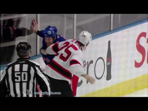 Brandon Prust vs. Andrew Peters