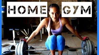 Home Gym / Fitnessstudio / Fitnessraum Zuhause - Empfehlungen - Geräte - Hantelbank, Rack, Hanteln