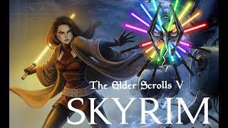 TES5 Skyrim - обзорчик#13 световые мечи и робы джедаев|ситхов из STARWARS