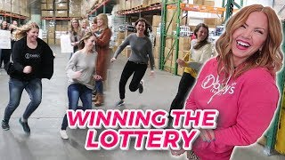 WINNING THE FREAKING LOTTERY! How did they WIN?