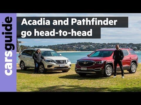 Acadia v Pathfinder 2020 comparison review